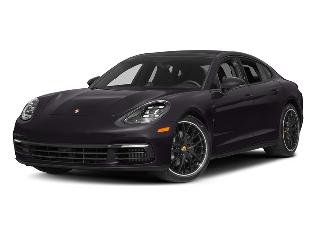 Amethyst Metallic 2018 Porsche Panamera Pictures Panamera 4S Executive AWD photos front view