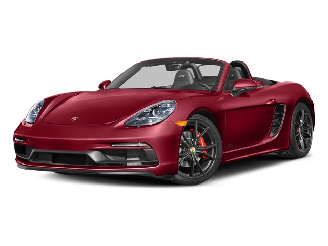 Carmine Red 2018 Porsche 718 Boxster Pictures 718 Boxster GTS Roadster photos front view