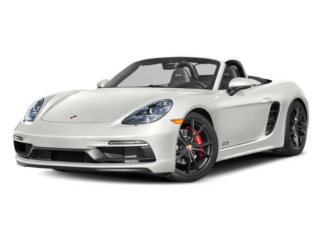 White 2018 Porsche 718 Boxster Pictures 718 Boxster GTS Roadster photos front view