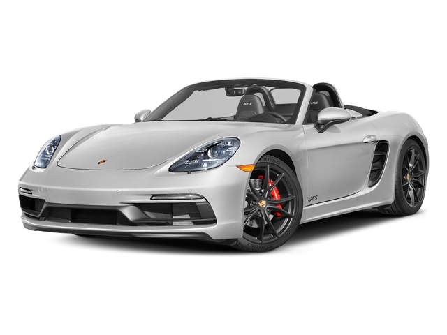 Carrara White Metallic 2018 Porsche 718 Boxster Pictures 718 Boxster GTS Roadster photos front view