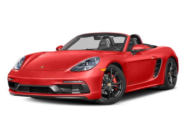 Lava Orange 2018 Porsche 718 Boxster Pictures 718 Boxster GTS Roadster photos front view