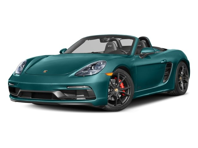 Miami Blue 2018 Porsche 718 Boxster Pictures 718 Boxster GTS Roadster photos front view
