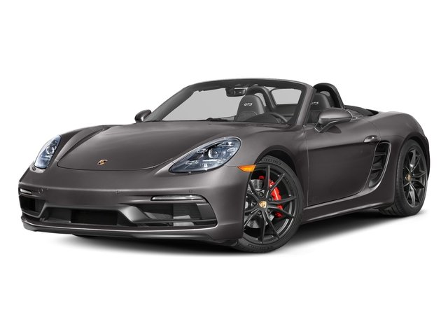 Agate Grey Metallic 2018 Porsche 718 Boxster Pictures 718 Boxster GTS Roadster photos front view