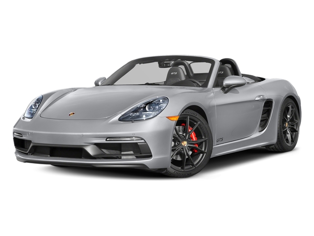 Rhodium Silver Metallic 2018 Porsche 718 Boxster Pictures 718 Boxster GTS Roadster photos front view