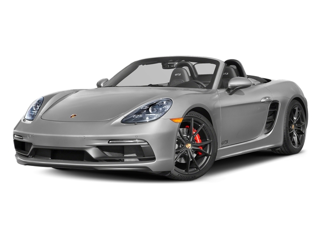 GT Silver Metallic 2018 Porsche 718 Boxster Pictures 718 Boxster GTS Roadster photos front view