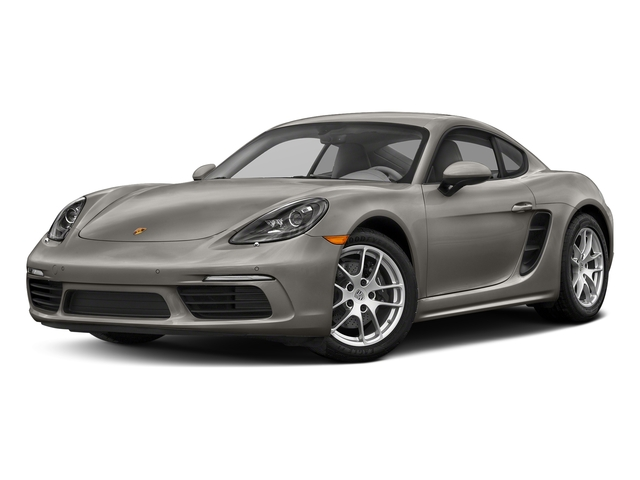Agate Grey Metallic 2018 Porsche 718 Cayman Pictures 718 Cayman Coupe photos front view
