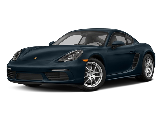 Night Blue Metallic 2018 Porsche 718 Cayman Pictures 718 Cayman Coupe photos front view