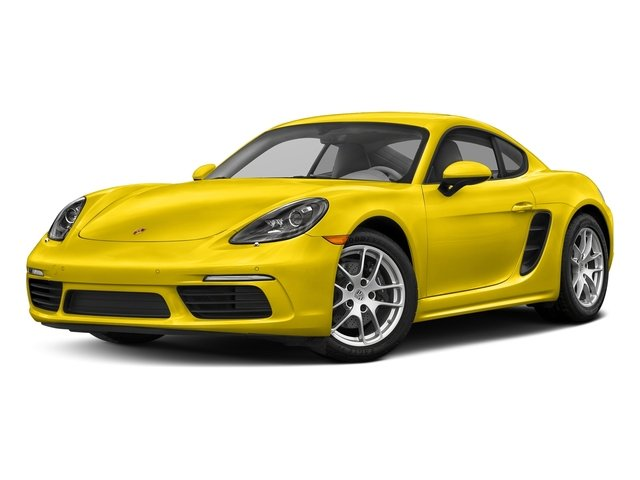 Racing Yellow 2018 Porsche 718 Cayman Pictures 718 Cayman Coupe photos front view
