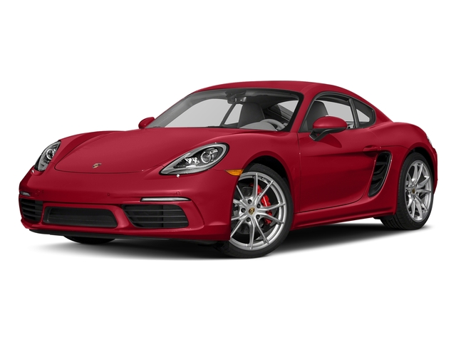 Carmine Red 2018 Porsche 718 Cayman Pictures 718 Cayman S Coupe photos front view