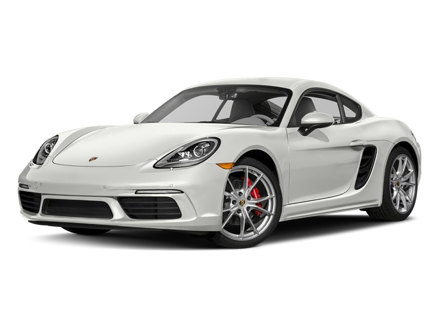 White 2018 Porsche 718 Cayman Pictures 718 Cayman S Coupe photos front view