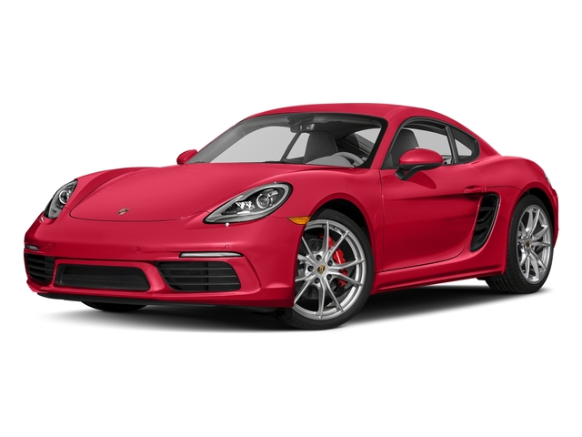 Guards Red 2018 Porsche 718 Cayman Pictures 718 Cayman S Coupe photos front view