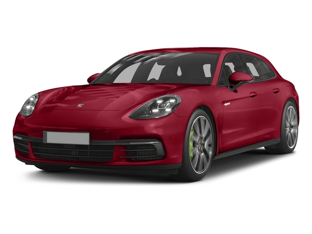 Carmine Red 2018 Porsche Panamera Pictures Panamera 4 E-Hybrid Sport Turismo AWD photos front view