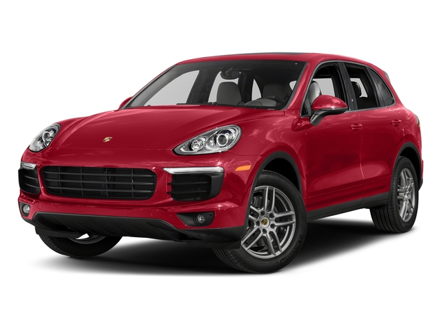 Carmine Red 2018 Porsche Cayenne Pictures Cayenne AWD photos front view