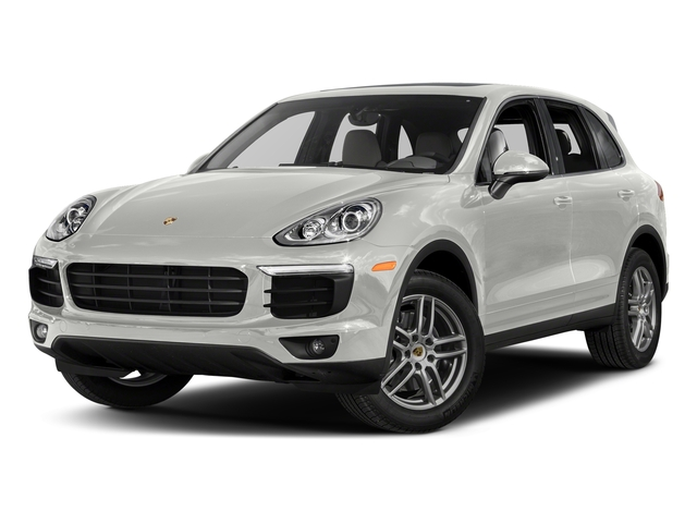 White 2018 Porsche Cayenne Pictures Cayenne Utility 4D AWD V6 photos front view