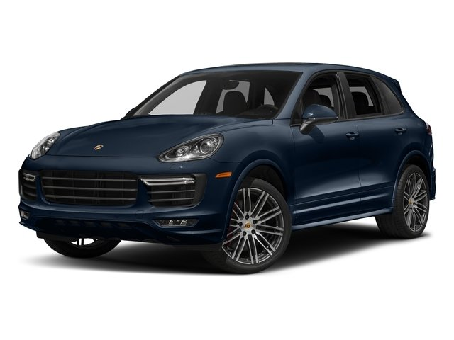 Moonlight Blue Metallic 2018 Porsche Cayenne Pictures Cayenne Utility 4D GTS AWD V6 Turbo photos front view
