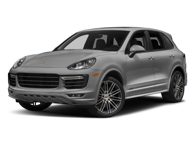 Rhodium Silver Metallic 2018 Porsche Cayenne Pictures Cayenne Utility 4D GTS AWD V6 Turbo photos front view