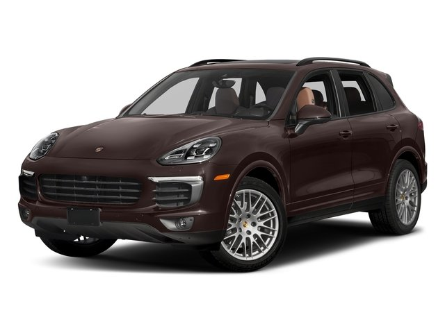 Mahogany Metallic 2018 Porsche Cayenne Pictures Cayenne Platinum Edition AWD photos front view