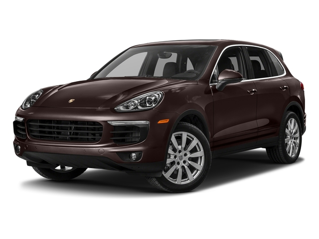 Mahogany Metallic 2018 Porsche Cayenne Pictures Cayenne S AWD photos front view