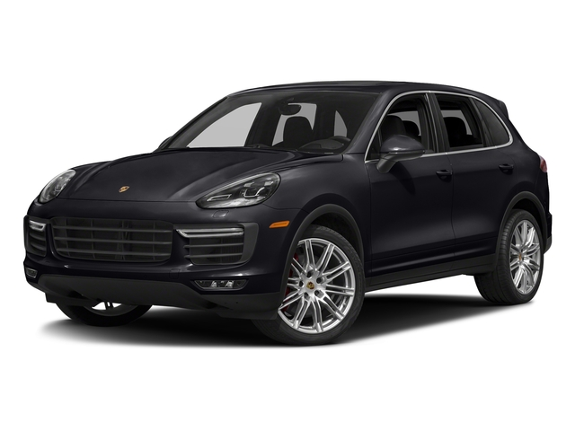 Jet Black Metallic 2018 Porsche Cayenne Pictures Cayenne Utility 4D S AWD V8 Turbo photos front view