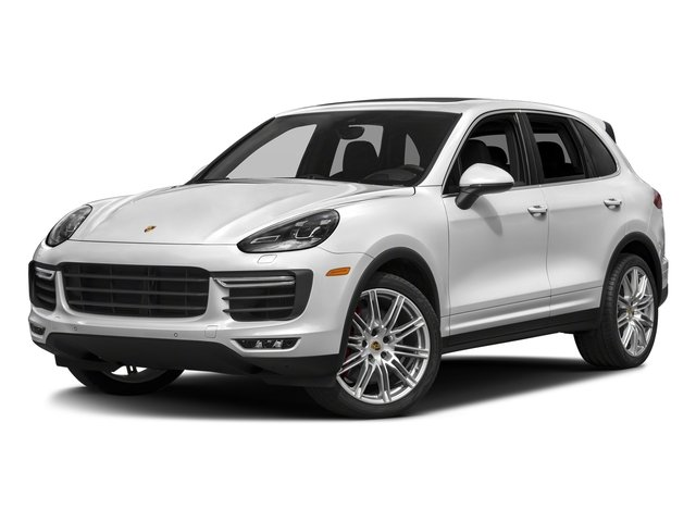 Carrara White Metallic 2018 Porsche Cayenne Pictures Cayenne Utility 4D S AWD V8 Turbo photos front view