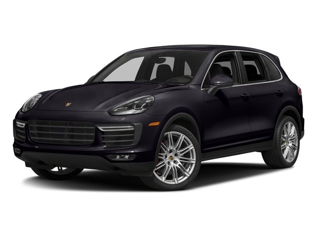 Purpurite Metallic 2018 Porsche Cayenne Pictures Cayenne Utility 4D S AWD V8 Turbo photos front view