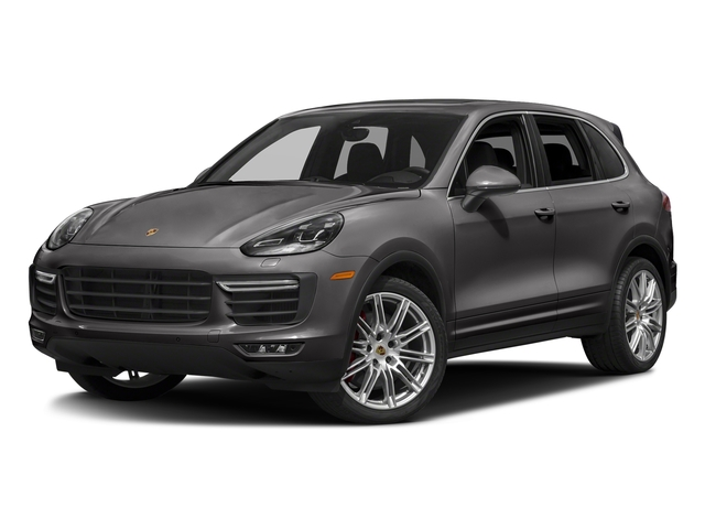 Meteor Grey Metallic 2018 Porsche Cayenne Pictures Cayenne Turbo S AWD photos front view