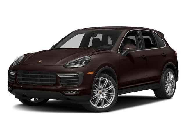 Mahogany Metallic 2018 Porsche Cayenne Pictures Cayenne Utility 4D AWD V8 Turbo photos front view