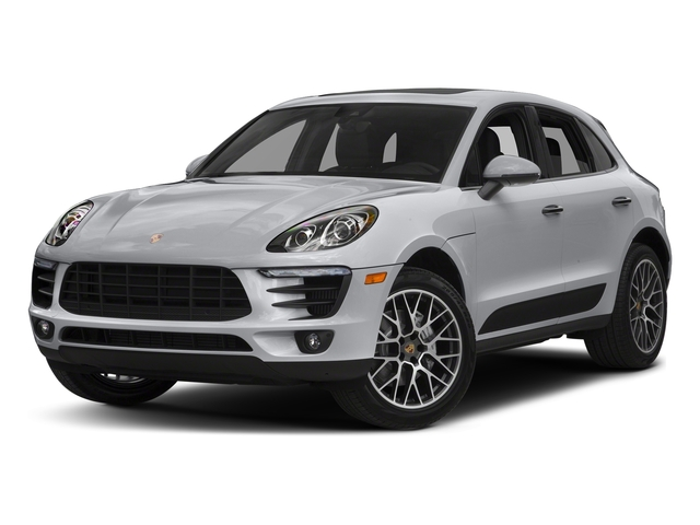 Rhodium Silver Metallic 2018 Porsche Macan Pictures Macan GTS AWD photos front view