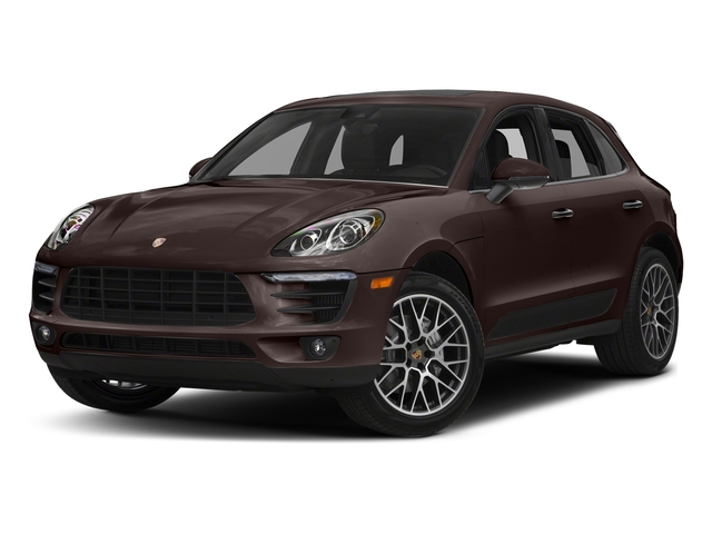 Mahogany Metallic 2018 Porsche Macan Pictures Macan Turbo AWD w/Performance Pkg photos front view