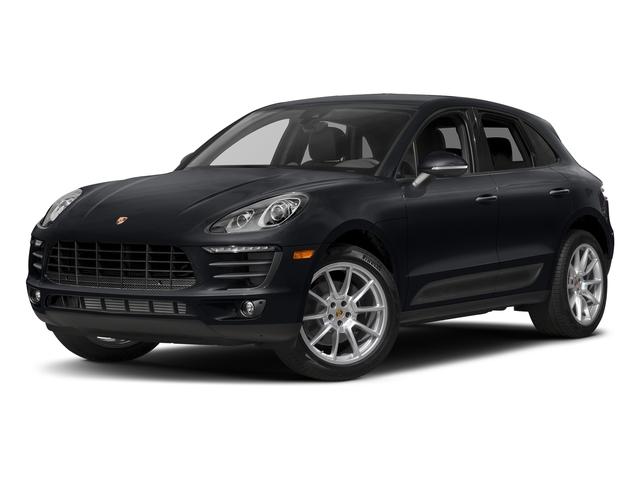 Jet Black Metallic 2018 Porsche Macan Pictures Macan AWD photos front view