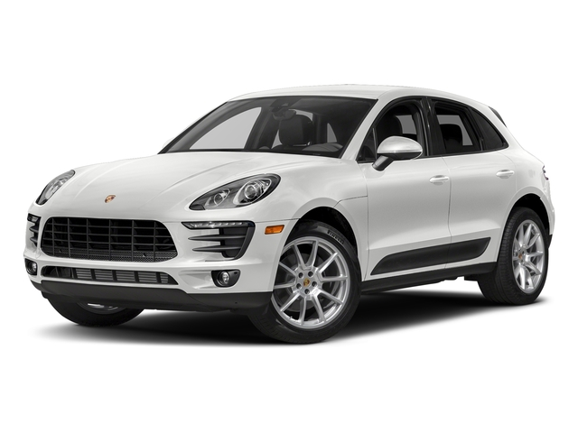 Carrara White Metallic 2018 Porsche Macan Pictures Macan AWD photos front view