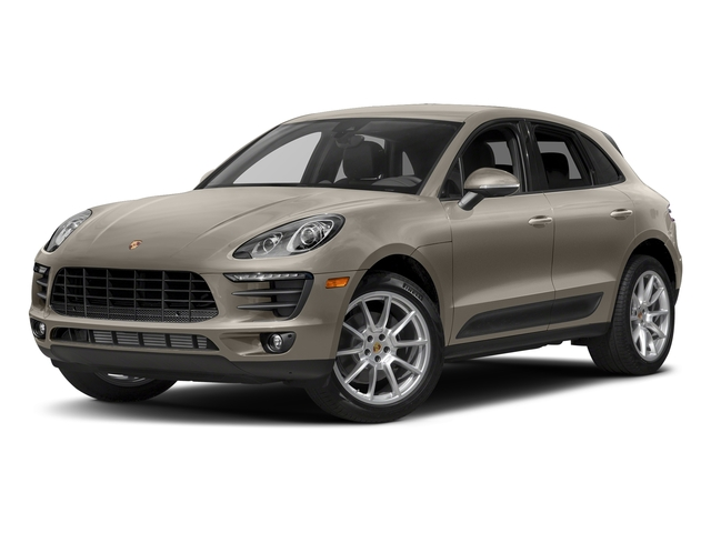 Palladium Metallic 2018 Porsche Macan Pictures Macan AWD photos front view