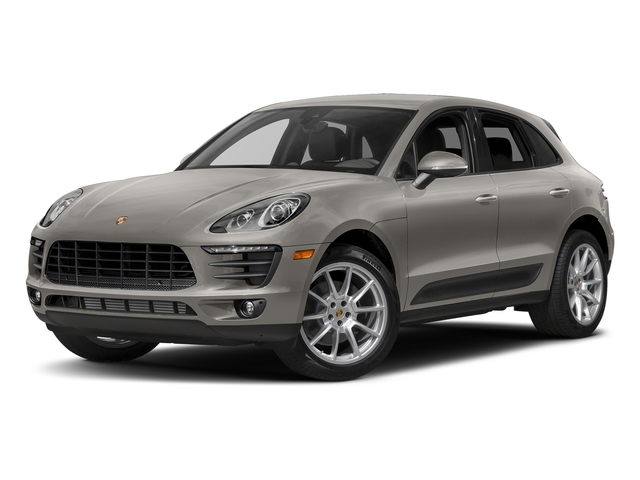 Agate Grey Metallic 2018 Porsche Macan Pictures Macan AWD photos front view