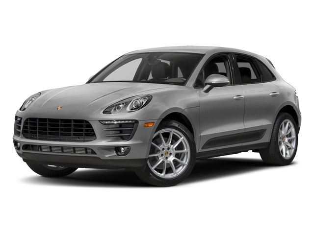Rhodium Silver Metallic 2018 Porsche Macan Pictures Macan AWD photos front view