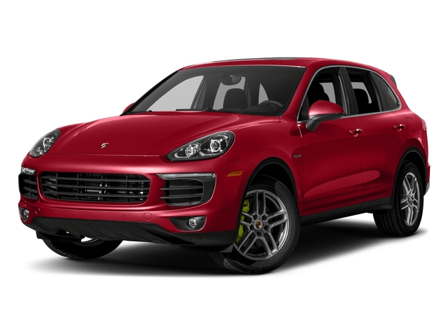Carmine Red 2018 Porsche Cayenne Pictures Cayenne S E-Hybrid AWD photos front view