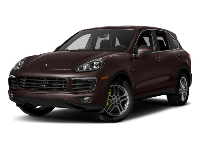 Mahogany Metallic 2018 Porsche Cayenne Pictures Cayenne S E-Hybrid AWD photos front view