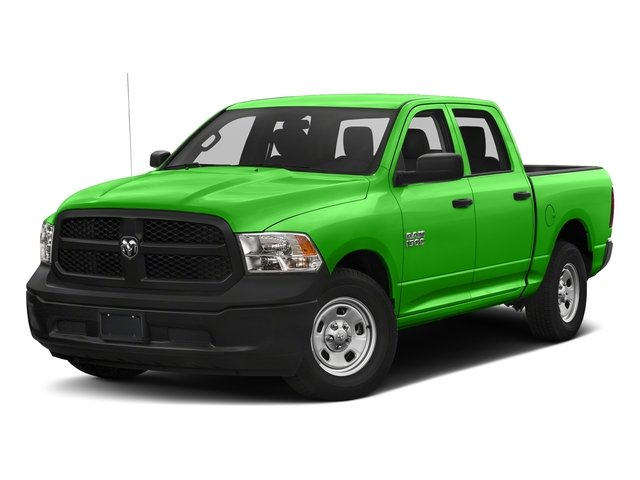 Hills Green 2018 Ram Truck 1500 Pictures 1500 Tradesman 4x4 Crew Cab 5'7 Box photos front view