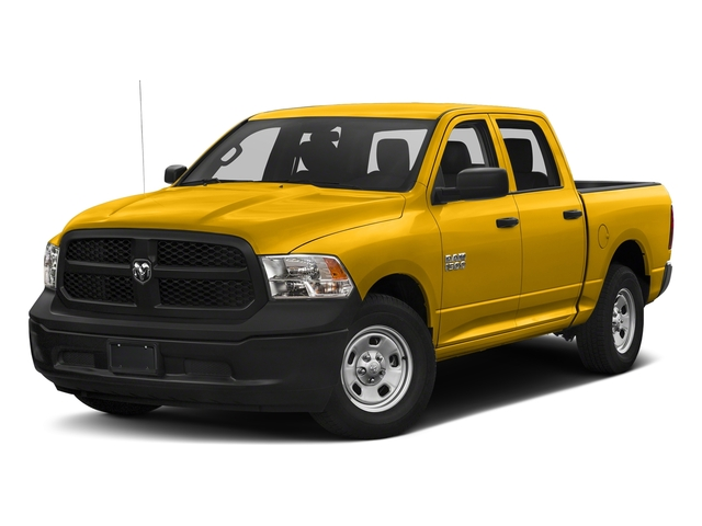 Yellow 2018 Ram Truck 1500 Pictures 1500 Tradesman 4x4 Crew Cab 5'7 Box photos front view
