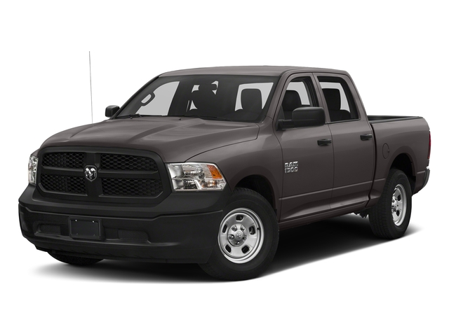 Granite Crystal Metallic Clearcoat 2018 Ram Truck 1500 Pictures 1500 Tradesman 4x4 Crew Cab 5'7 Box photos front view