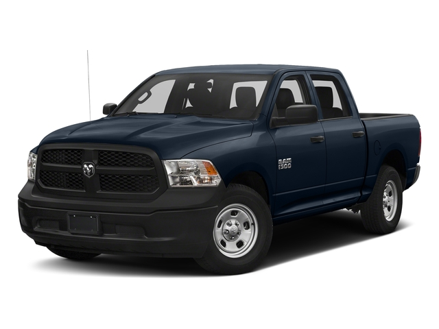 True Blue Pearlcoat 2018 Ram Truck 1500 Pictures 1500 Tradesman 4x4 Crew Cab 5'7 Box photos front view