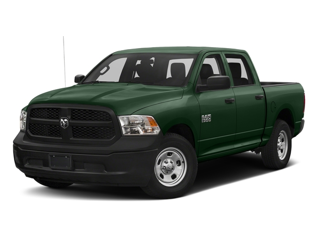 Timberline Green Pearlcoat 2018 Ram Truck 1500 Pictures 1500 Tradesman 4x4 Crew Cab 5'7 Box photos front view