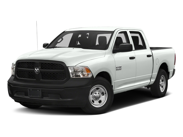 Bright White Clearcoat 2018 Ram Truck 1500 Pictures 1500 Tradesman 4x4 Crew Cab 5'7 Box photos front view