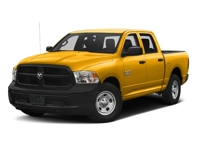 Detonator Yellow Clearcoat 2018 Ram Truck 1500 Pictures 1500 Tradesman 4x4 Crew Cab 5'7 Box photos front view