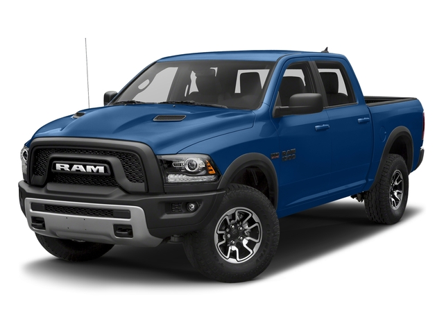 Blue Streak Pearlcoat 2018 Ram Truck 1500 Pictures 1500 Rebel 4x4 Crew Cab 5'7 Box photos front view