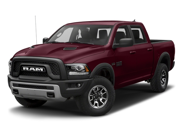 Delmonico Red Pearlcoat 2018 Ram Truck 1500 Pictures 1500 Rebel 4x4 Crew Cab 5'7 Box photos front view