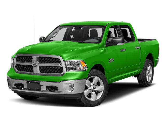 Hills Green 2018 Ram Truck 1500 Pictures 1500 SLT 4x4 Crew Cab 5'7 Box photos front view