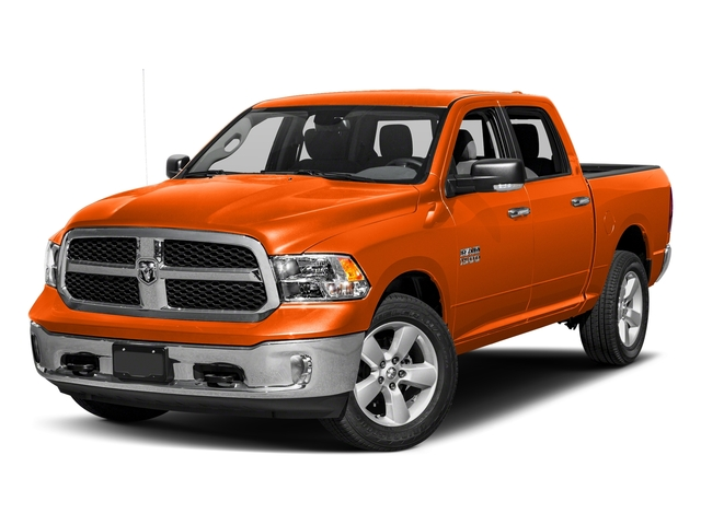 Omaha Orange 2018 Ram Truck 1500 Pictures 1500 SLT 4x4 Crew Cab 5'7 Box photos front view