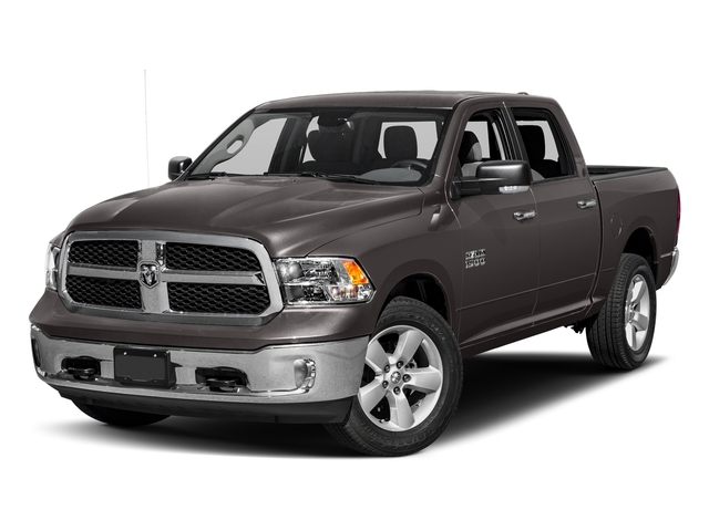 Granite Crystal Metallic Clearcoat 2018 Ram Truck 1500 Pictures 1500 SLT 4x4 Crew Cab 5'7 Box photos front view