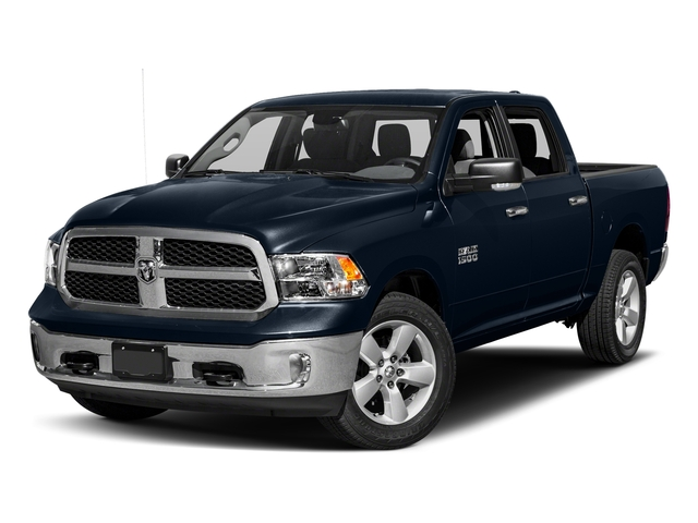 True Blue Pearlcoat 2018 Ram Truck 1500 Pictures 1500 SLT 4x4 Crew Cab 5'7 Box photos front view