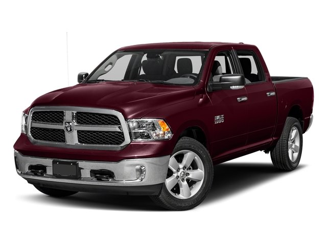 Delmonico Red Pearlcoat 2018 Ram Truck 1500 Pictures 1500 SLT 4x4 Crew Cab 5'7 Box photos front view